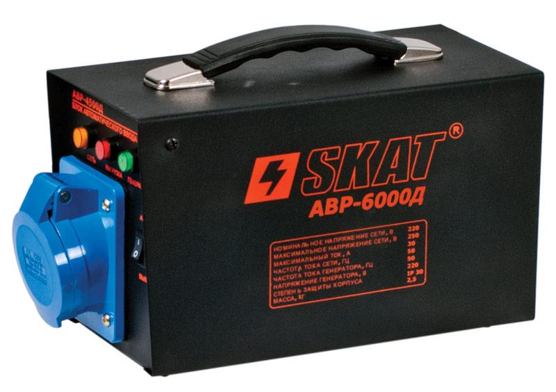 Блок автоматического запуска Skat АВР-6000Д