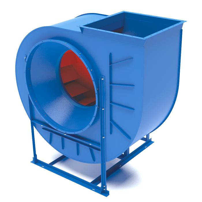 Вентилятор центробежный низкого давления ВЦ 4-70-6,3 7,5 кВт 380В