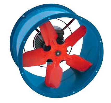 Вентилятор осевой Тепломаш ВО-4 0.37 кВт
